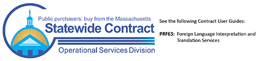 Massachusetts Statewide Contract